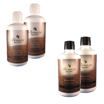 4 pack tanning solution